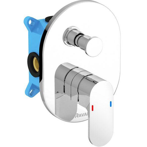 Смесители для Смеситель для ванны НЧ+СЧ Ravak Chrome CR 065.00 для R-box X070056