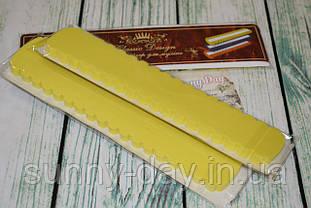 Органайзер для мулине CD 36 мест, цвет - желтый