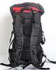 Туристический рюкзак The North Face на 60 литров красный + чехол дощовик, фото 6
