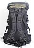Туристический рюкзак The North Face на 60 литров красный + чехол дощовик, фото 8