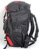Туристический рюкзак The North Face на 60 литров красный + чехол дощовик, фото 9