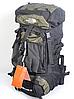 Туристический рюкзак The North Face на 60 литров красный + чехол дощовик, фото 10
