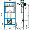 Инсталляционные системы Jika Инсталляция для унитаза Jika H8956520000001, фото 2