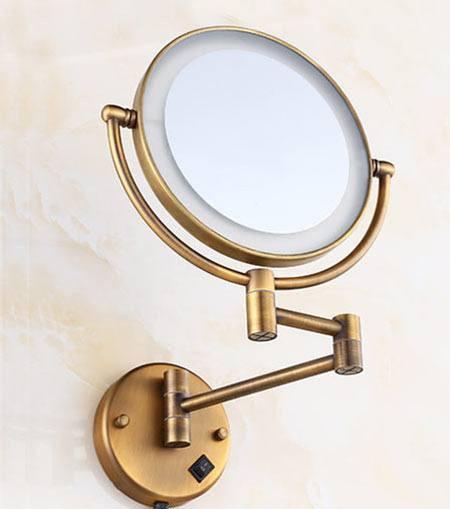 Косметические зеркала Deco Косметическое зеркало Deco 771810, бронза