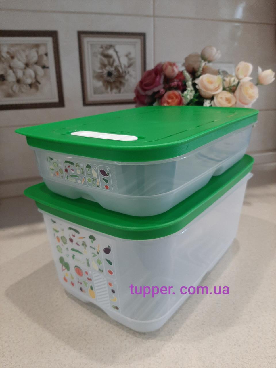 Tupperware набор умных холодильников 1.8л и 4.4л