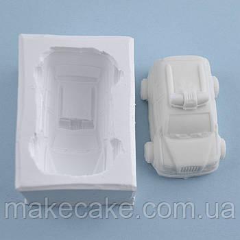 Силиконовый молд Машинка 5х7 см