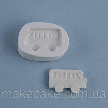 Силиконовый молд Автобус 4.0х3.0 см