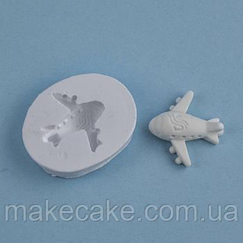 Силиконовый молд Самолет 4.0х5.0 см