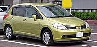 Мухобойка, дефлектор капота Nissan Tiida 2006- (EGR)