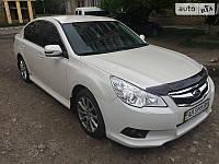 Дефлектор капота (Мухобойка) Subaru Legacy/Outback 2010-2014 (HIC)