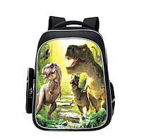 """Рюкзак школьный легкий в первый 1 2 3 4 класс для мальчика с динозаврами """"Jurassic Park'"""
