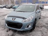 Дефлектор капота (мухобойка) Peugeot 308 2007-