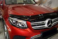 Дефлектор капота (мухобойка) Mercedes GLC-class 2015-