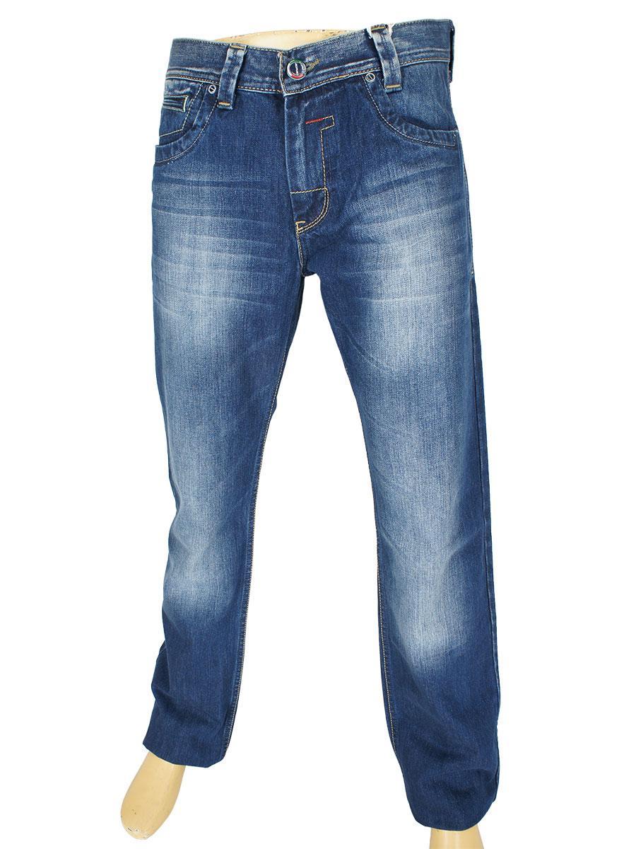 Стильні чоловічі джинси з потертостями Cen-cor CNC-1077