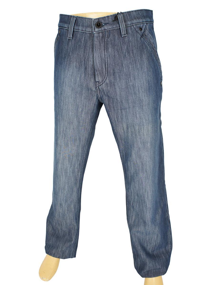 Зимние мужские джинсы 0895 фліс