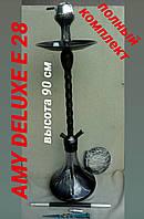 Кальян AMY DELUXE E 28 чёрный +, фото 1
