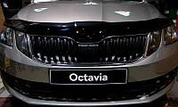 Дефлектор капота (мухобойка) Skoda Octavia 2017-