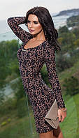 Платье женское жаккард, фото 1
