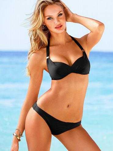Красивый женский купальник в стиле Victoria Secret