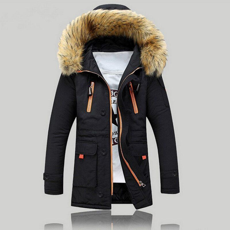 Длинная мужская куртка AL-7833-10