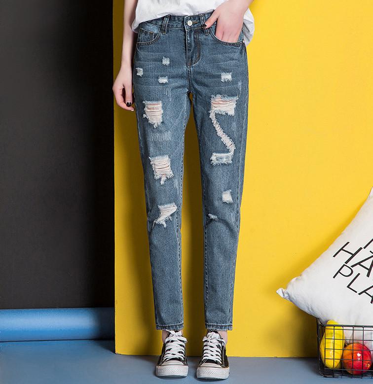 Женские джинси AL-8415-50