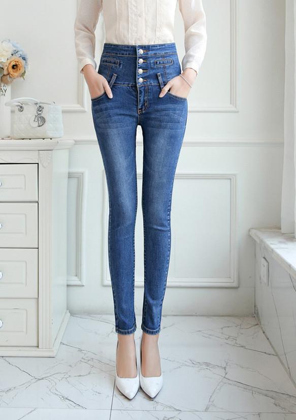 Женские джинсы AL-8448-50