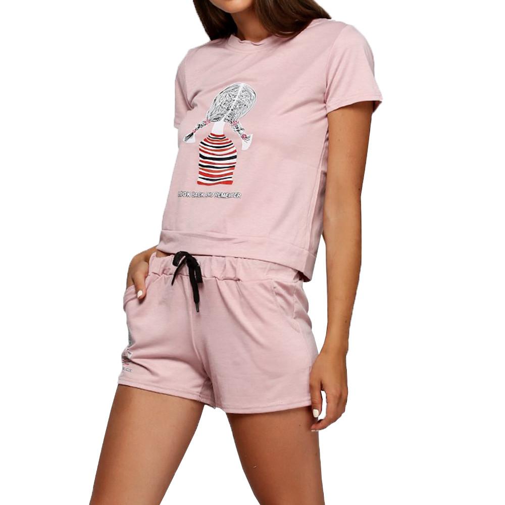 Женский костюм с шортами АL-8246-30