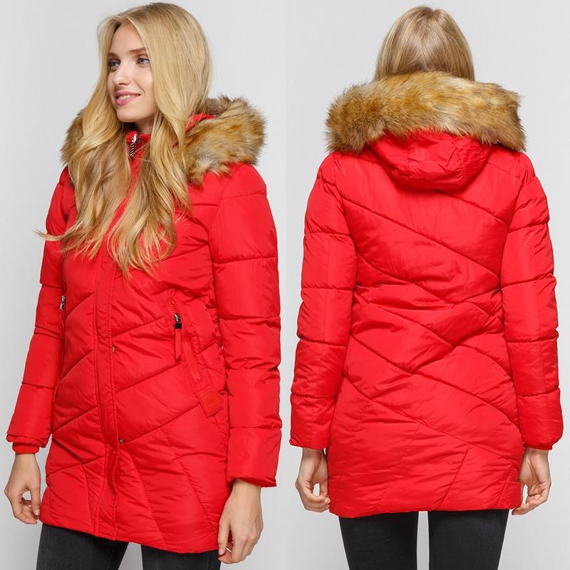 Зимняя куртка приталенного кроя AL-8472-35
