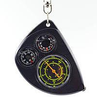 Компас магнитный с курвиметром и термометром LX-2