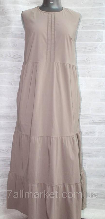 """Платье женское летнее полубатальное, размеры 50-56 (4цв) """"AMORE"""" купить недорого от прямого поставщика"""