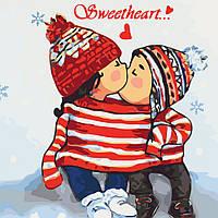 Набор для рисования Идейка Картина по номерам ИKHO2334 Sweetheart 30х30 см