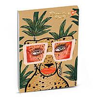 Альбом для рисования А4 40 листов 100 г/м склейка белила+фол.золото BBH YES крафт 130464