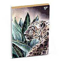 Альбом для рисования А4 40 листов 100 г/м склейка белила+фол.золото KATYA ROZZ YES крафт 130465