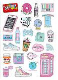 Вафельная картинка Мода и стиль | Съедобные картинки Fashion | Картинки для торта для девочек разные Формат А4, фото 5