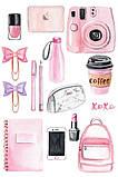 Вафельная картинка Мода и стиль | Съедобные картинки Fashion | Картинки для торта для девочек разные Формат А4, фото 6