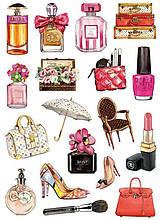Вафельная картинка Мода и стиль | Съедобные картинки Fashion | Картинки для торта для девочек разные Формат А4 #1