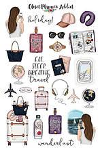 Вафельная картинка Мода и стиль | Съедобные картинки Fashion | Картинки для торта для девочек разные Формат А4 #3