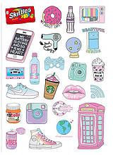 Вафельна картинка Мода і стиль | Їстівні картинки Fashion | Картинки для торта для дівчаток різні Формат А4 #4