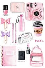 Вафельна картинка Мода і стиль | Їстівні картинки Fashion | Картинки для торта для дівчаток різні Формат А4 #5