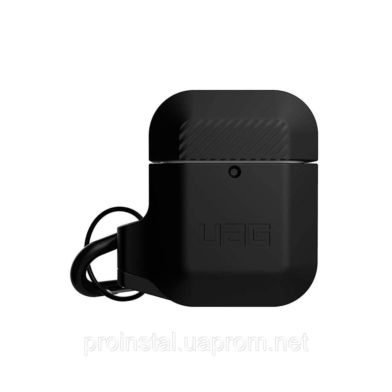 Чехол UAG для AirPods Silicone, Black/Black