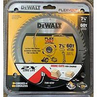 Диск пильный по дереву DEWALT DWAFV3760 Flexvolt 60T 185мм