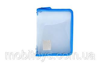 Папка пластиковая 24 * 18см 30102 (12/360) (КНОПКА)