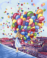 Картина по номерам Яркие краски города, 40х50 (KPN-01-03)