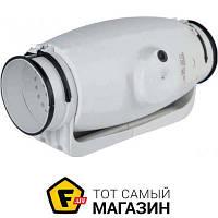 Осевой бытовой канальный вентилятор вытяжной Soler & Palau TD-500/150-160 Silent белый