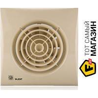 Осевой бытовой накладной (настенный/потолочный) вентилятор вытяжной Soler & Palau Silent-100 CZ Ivory слоновой кости