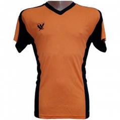 Футболка футбольная SWIFT 13 Noviembre Tactel (оранжево/черная) р.M