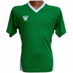 Футболка футбольная SWIFT 2 Flor Tactel (зелено/белая) р.М