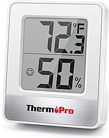 Термо-гигрометр ThermoPro TP-49 Black (-50°C ... 70°C; 10%...99%)