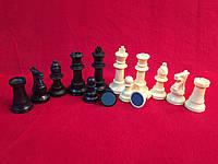 """Набор больших пластиковых шахматных фигур в стиле """"Стаунтон"""", фото 1"""