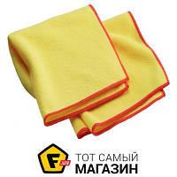 Сухая салфетка для уборки пыли E-Cloth 2 Dusters (201033) - устойчива к стирке - микрофибра - цвет желтый